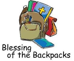 Blessing of the Backpacks @ Grace United Methodist Church | Ravena | New York | United States